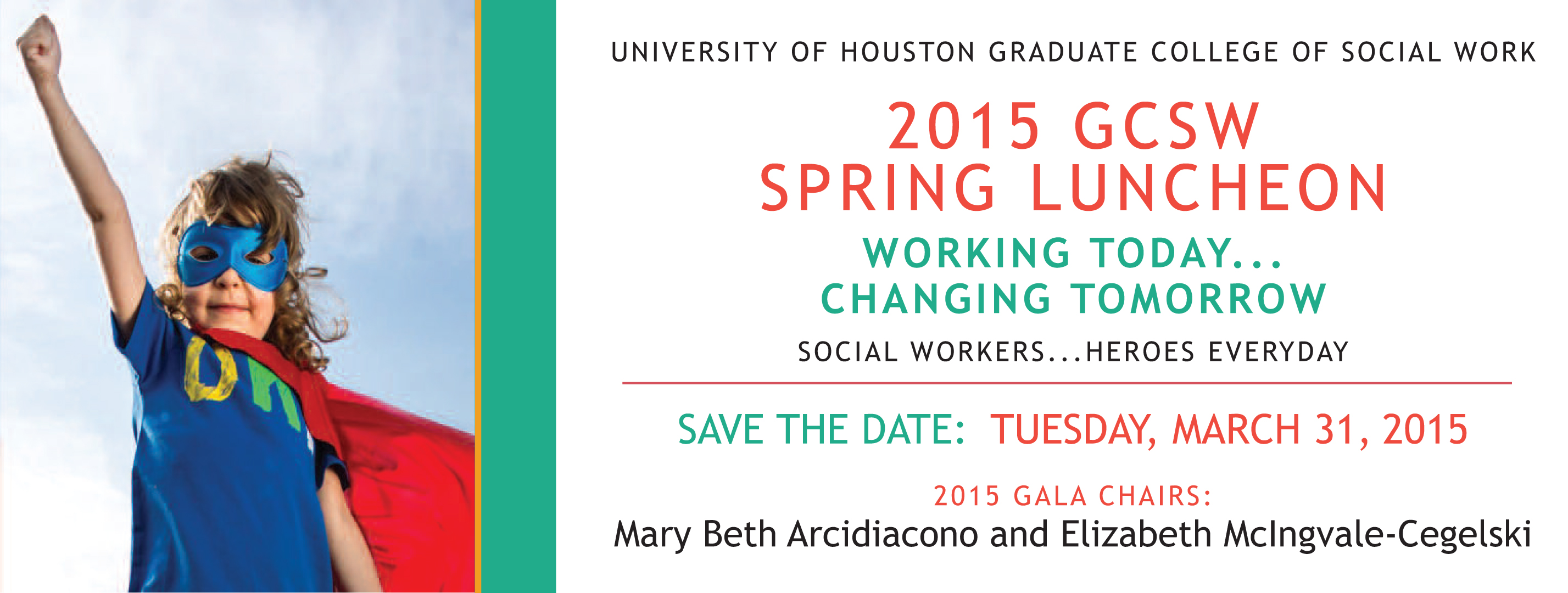 2015 GCSW Spring Luncheon